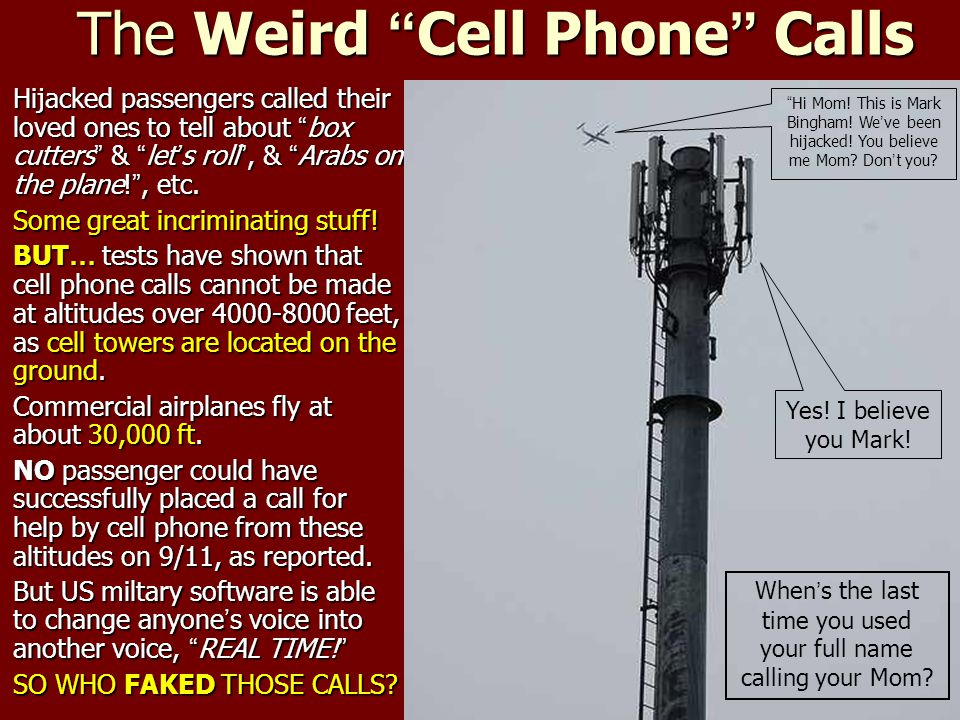 The Weird Cell Phone Calls
