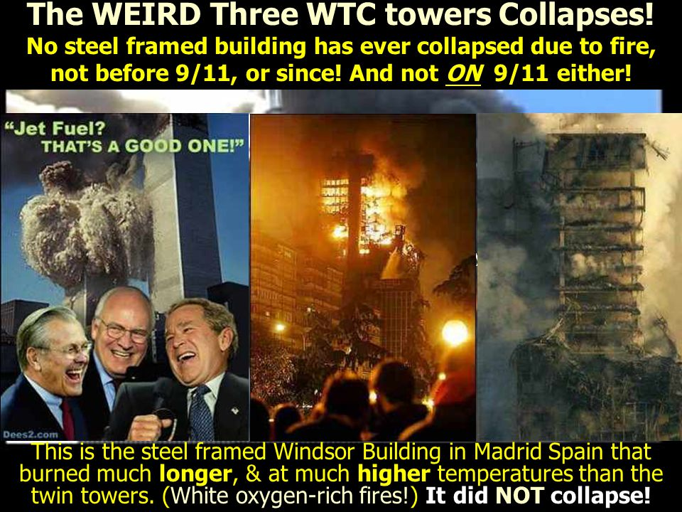 The WEIRD Three WTC towers Collapses