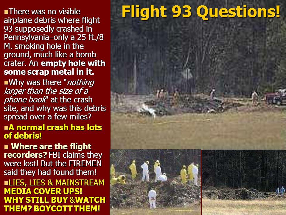 Flight 93 Questions!