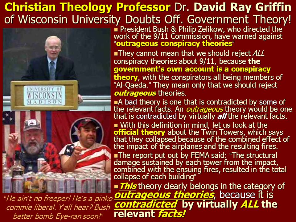 Christian Theology Professor Dr