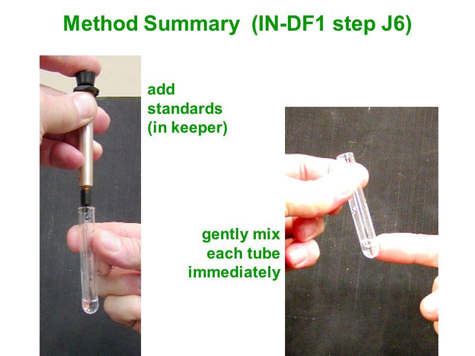 Method Summary (IN-DF1 step J6)