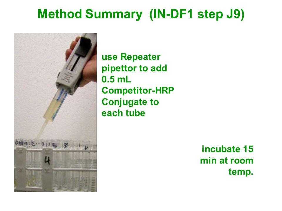 Method Summary (IN-DF1 step J9)