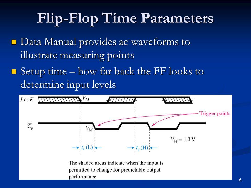 Flip-Flop Time Parameters