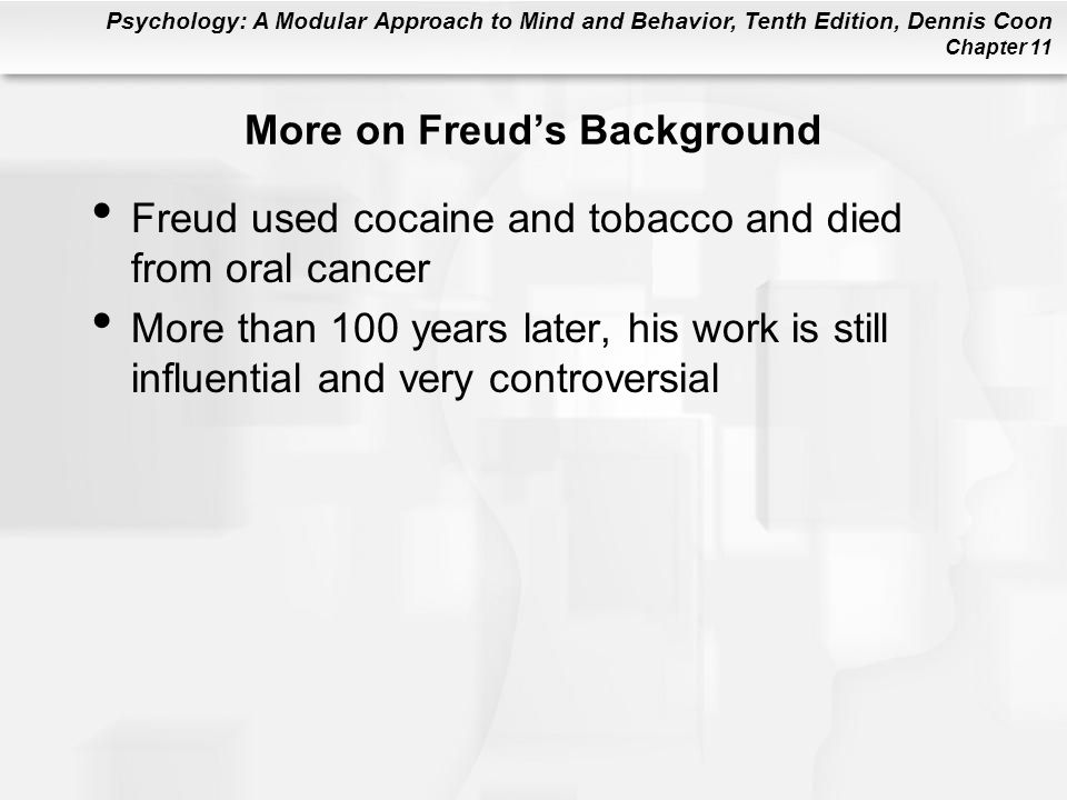 More on Freud's Background