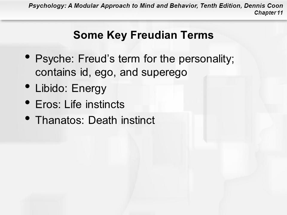 Some Key Freudian Terms