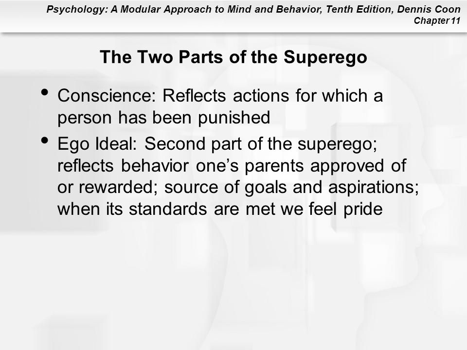 The Two Parts of the Superego