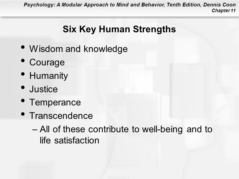 Six Key Human Strengths