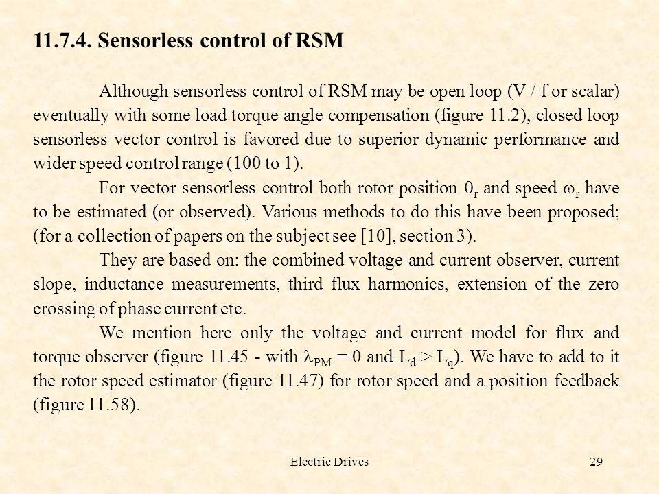 11.7.4. Sensorless control of RSM