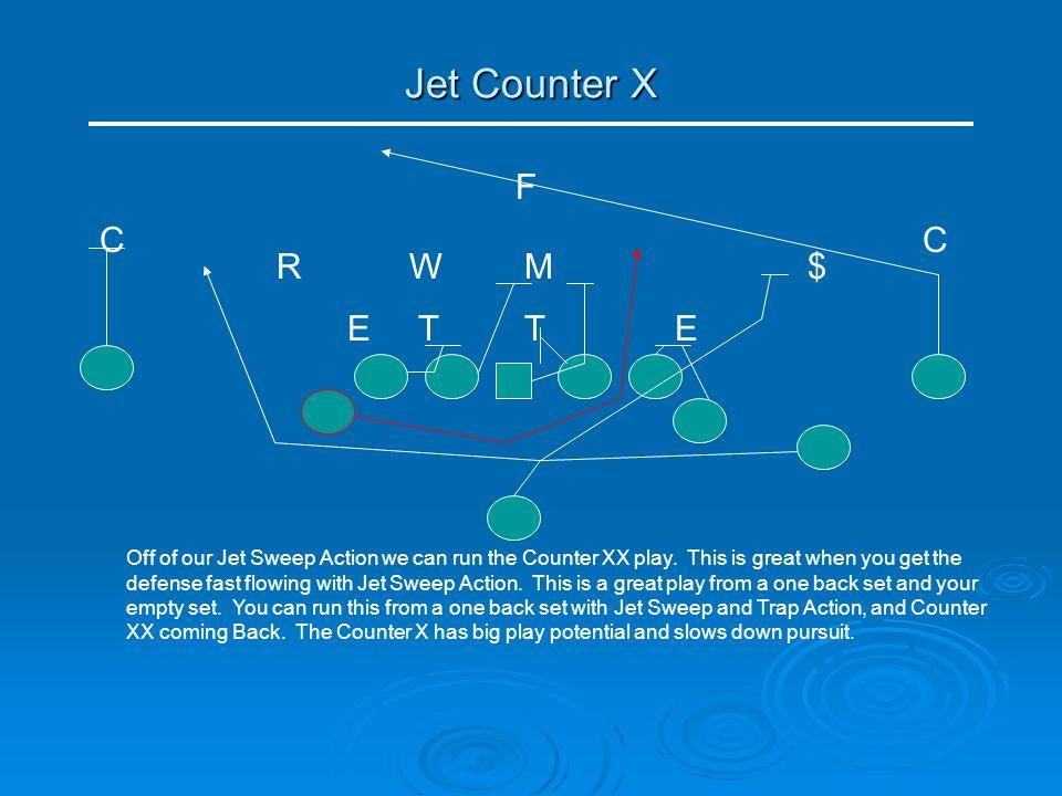 Jet Counter X F C C R W M $ E T T E