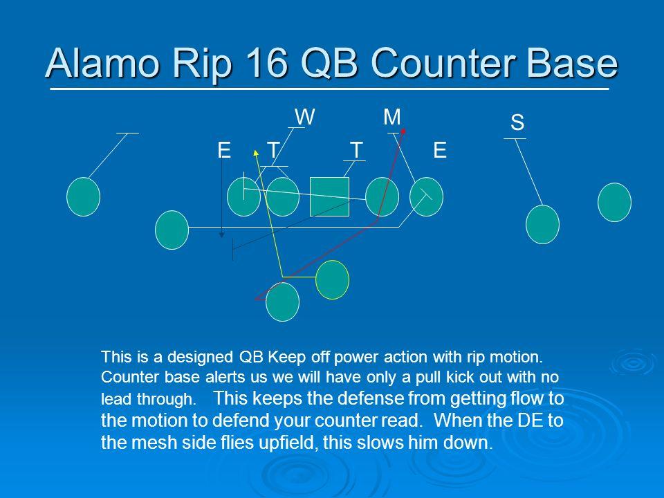 Alamo Rip 16 QB Counter Base