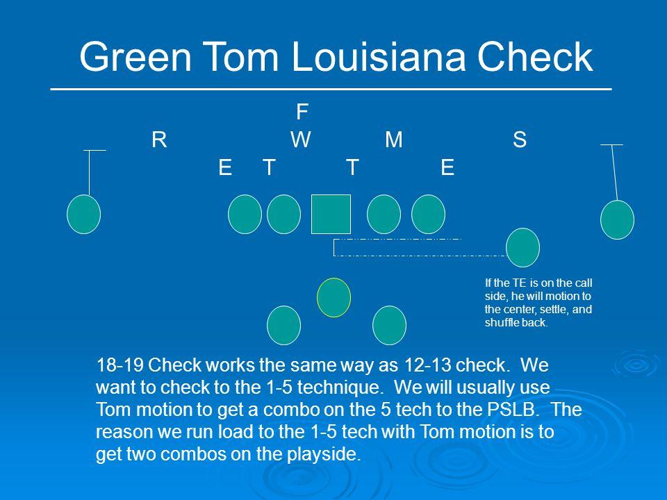 Green Tom Louisiana Check