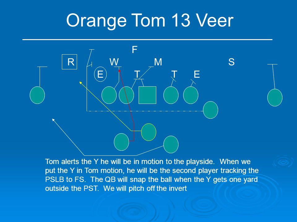 Orange Tom 13 Veer F R W M S E T T E
