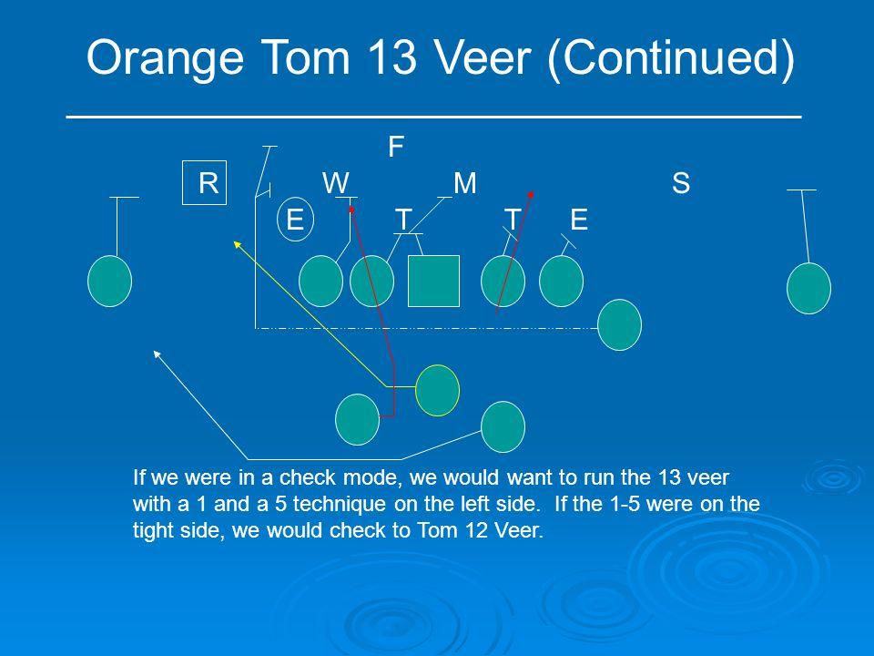 Orange Tom 13 Veer (Continued)