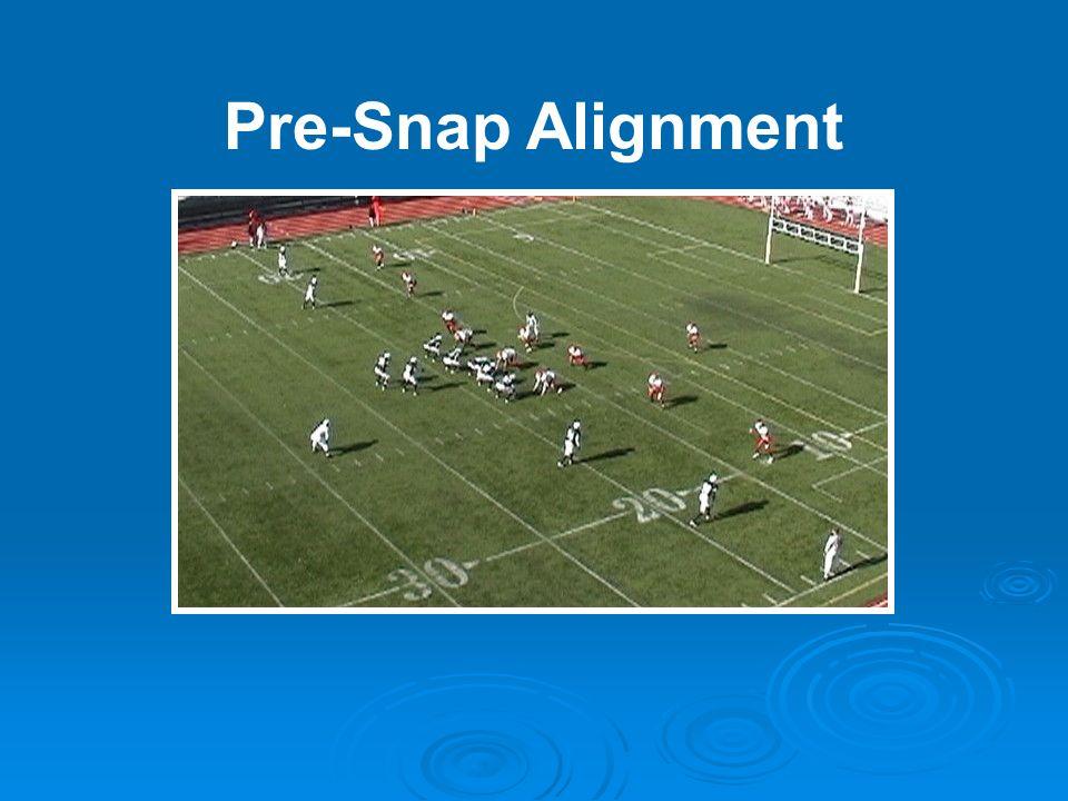 Pre-Snap Alignment