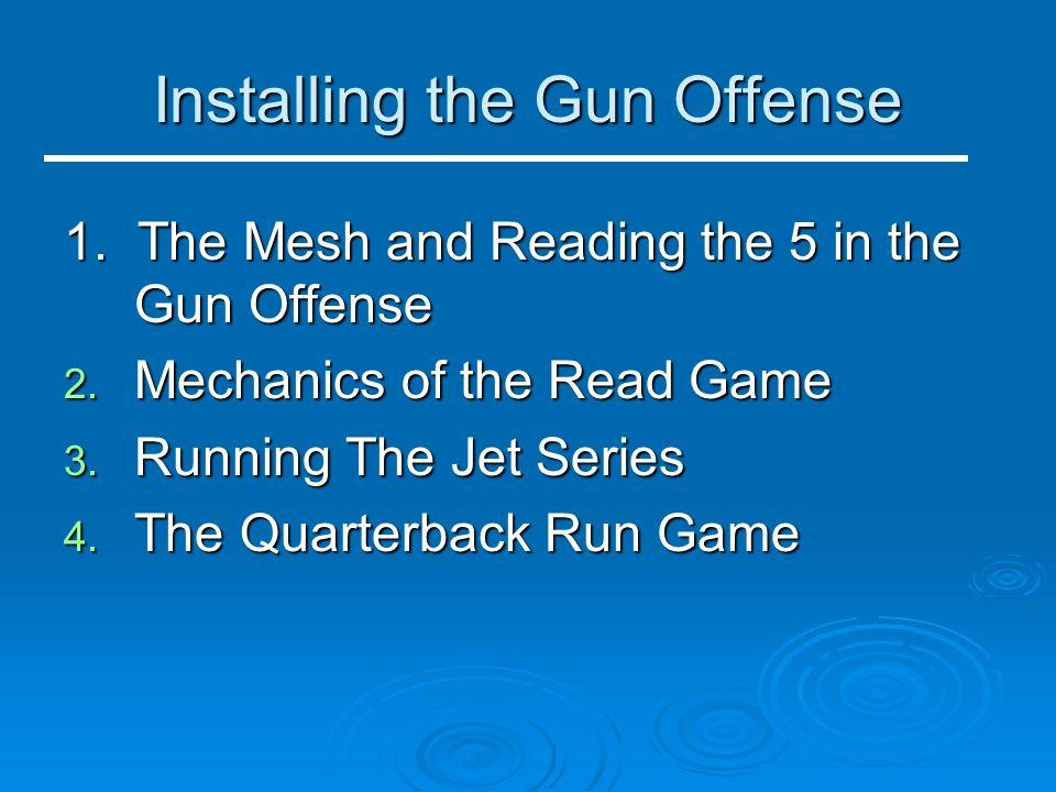 Installing the Gun Offense