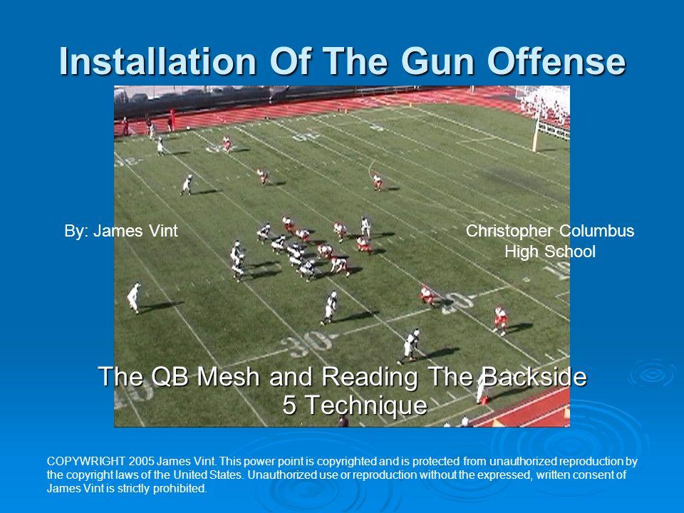 Installation Of The Gun Offense
