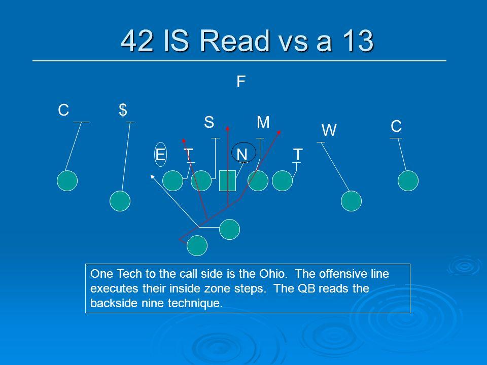 42 IS Read vs a 13 F C $ S M C W E T N T