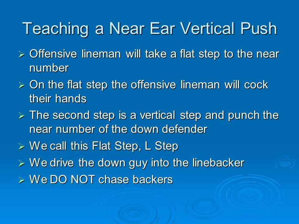 Teaching a Near Ear Vertical Push