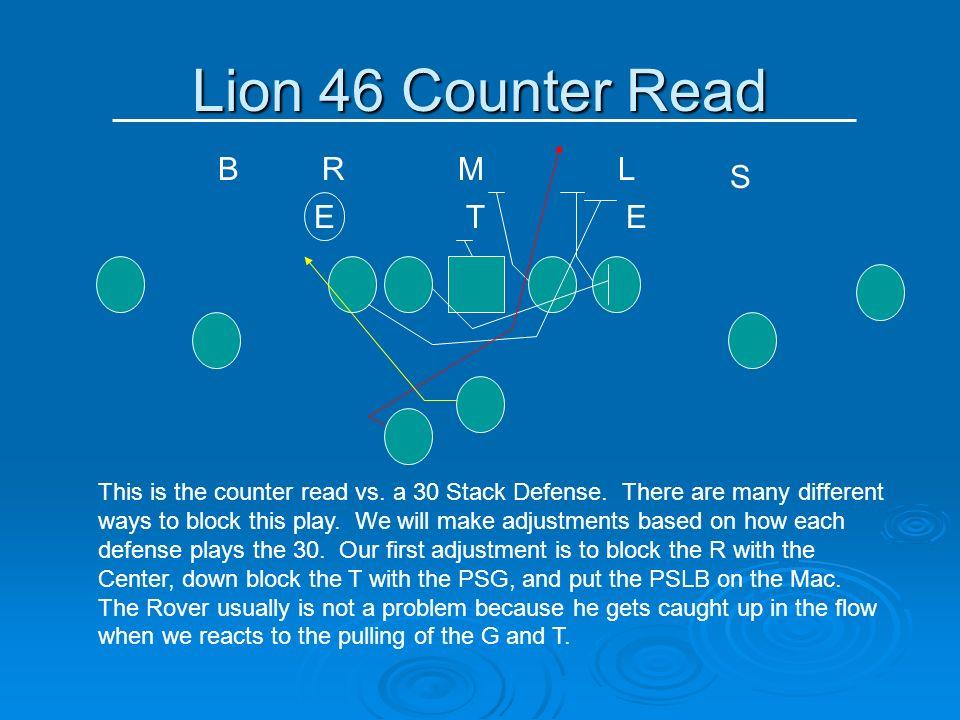 Lion 46 Counter Read B R M L S E T E