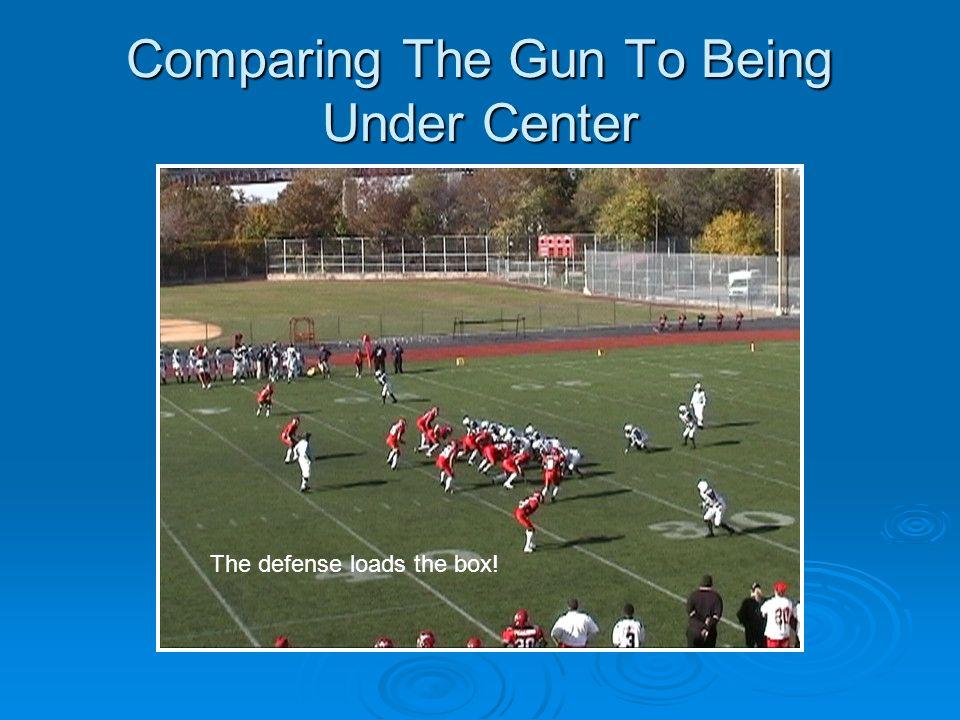 Comparing The Gun To Being Under Center