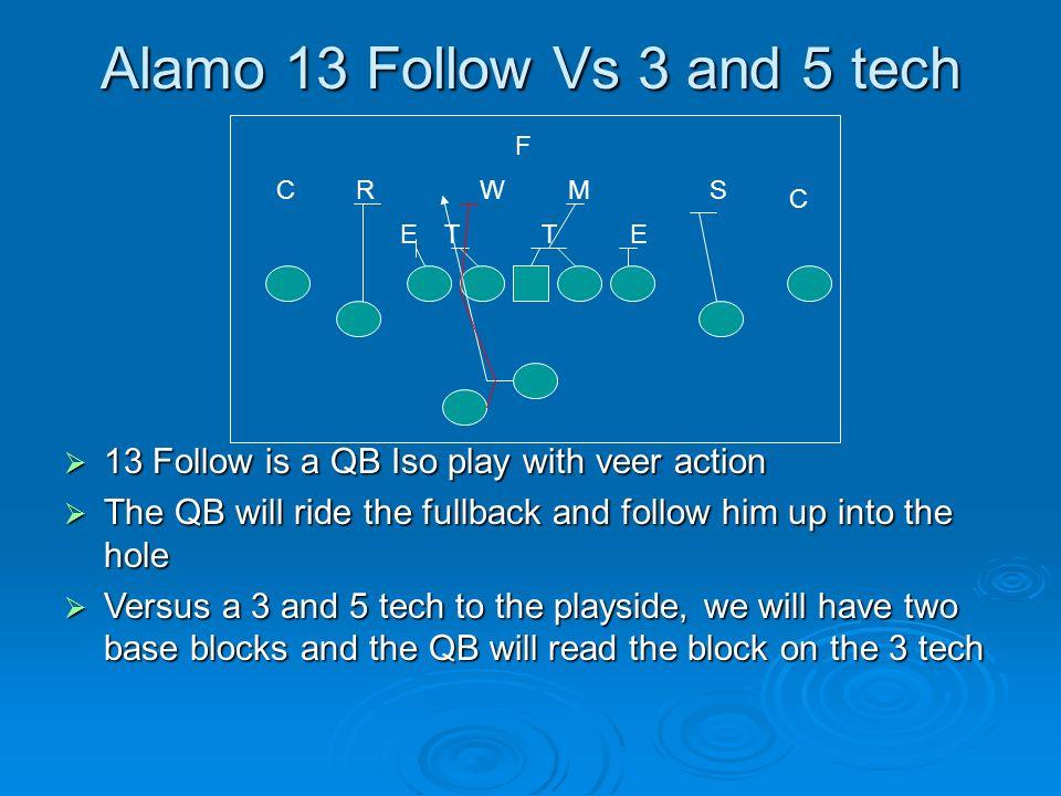 Alamo 13 Follow Vs 3 and 5 tech