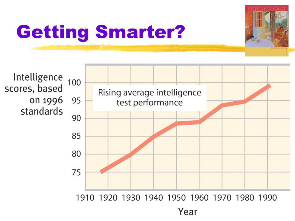 Getting Smarter