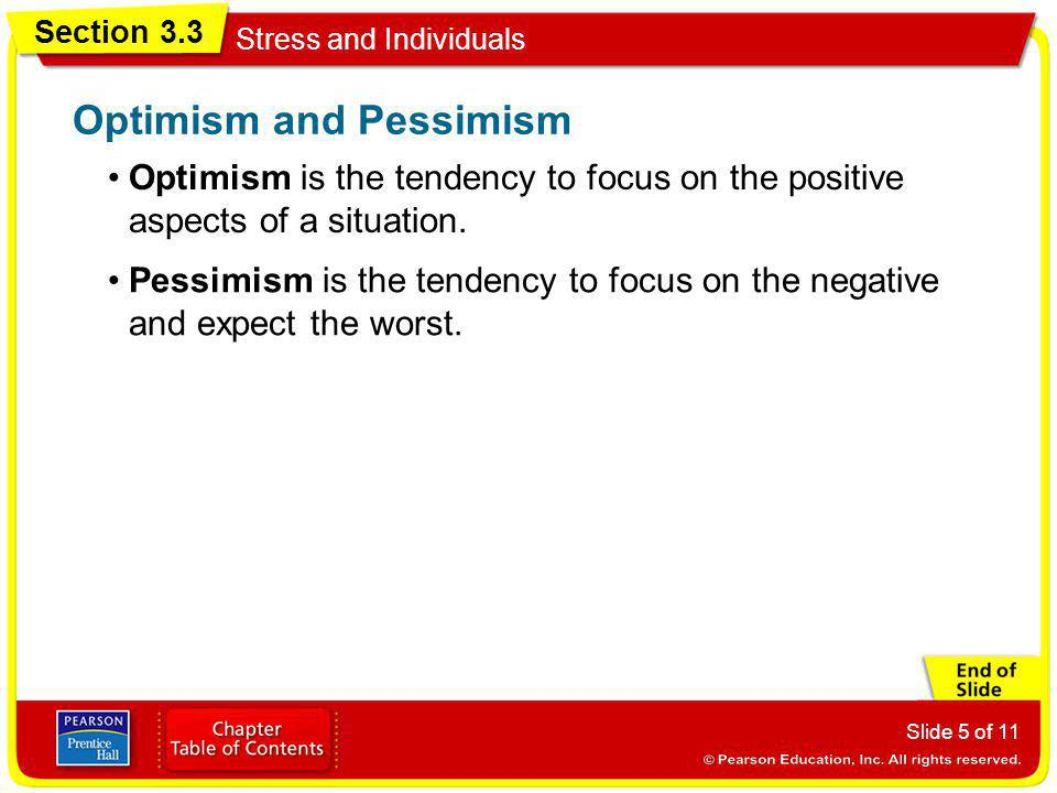 Optimism and Pessimism