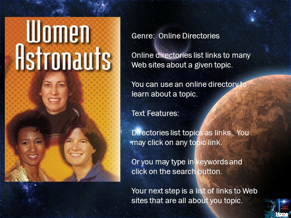 Genre: Online Directories