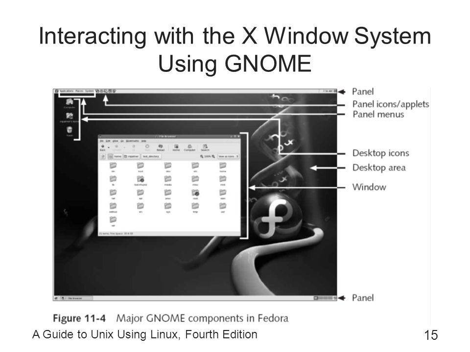 Interacting with the X Window System Using GNOME