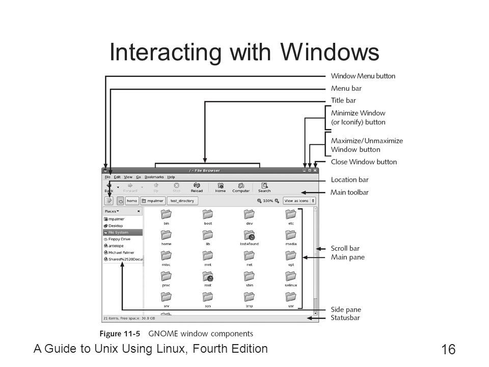 Interacting with Windows