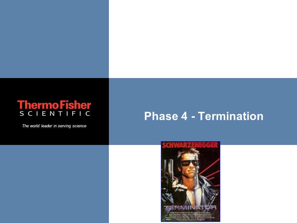 Phase 4 - Termination