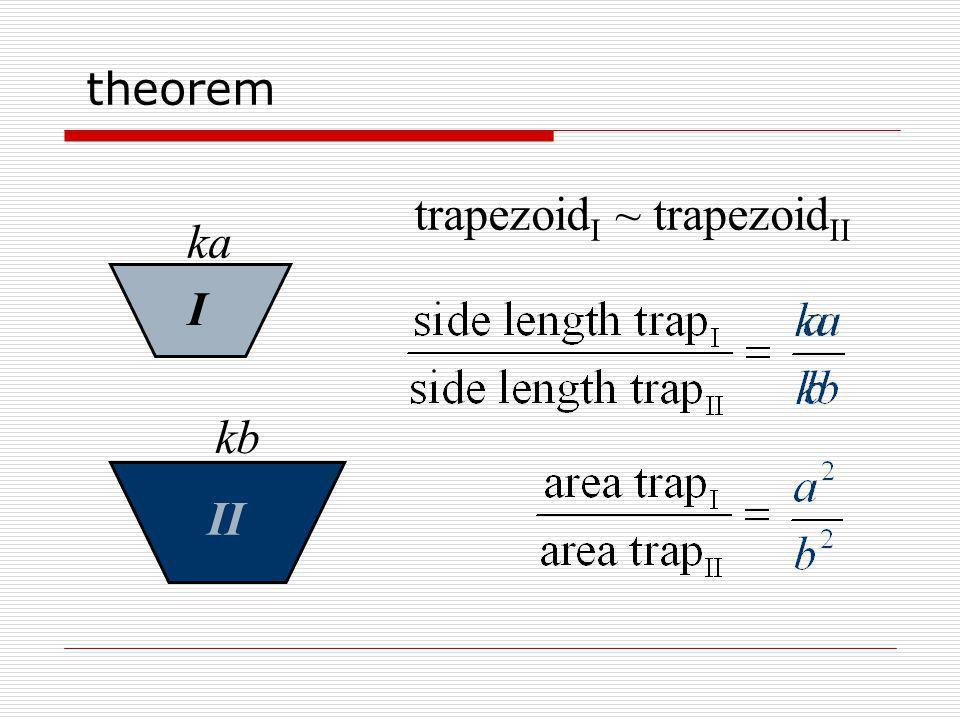 trapezoidI ~ trapezoidII ka I