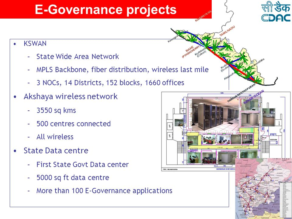 E-Governance projects