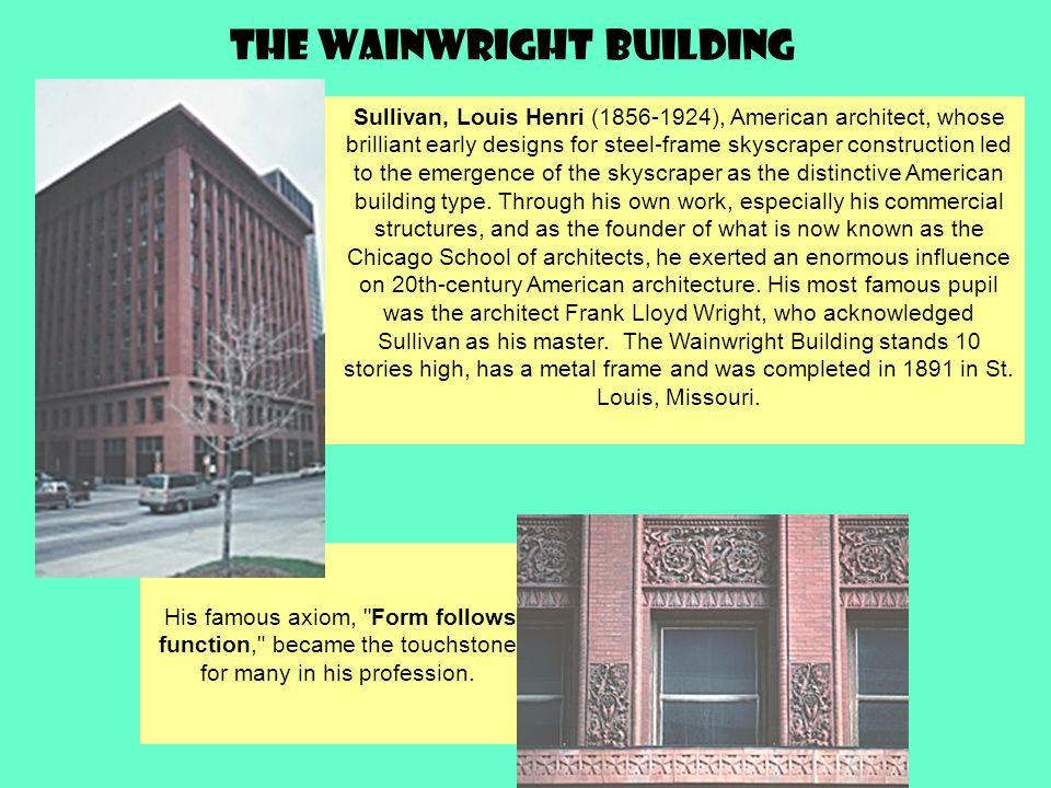 The Wainwright Building