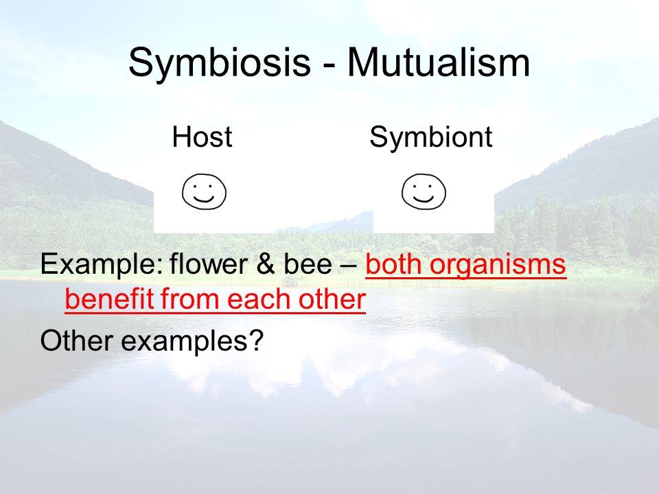 Symbiosis - Mutualism Host Symbiont