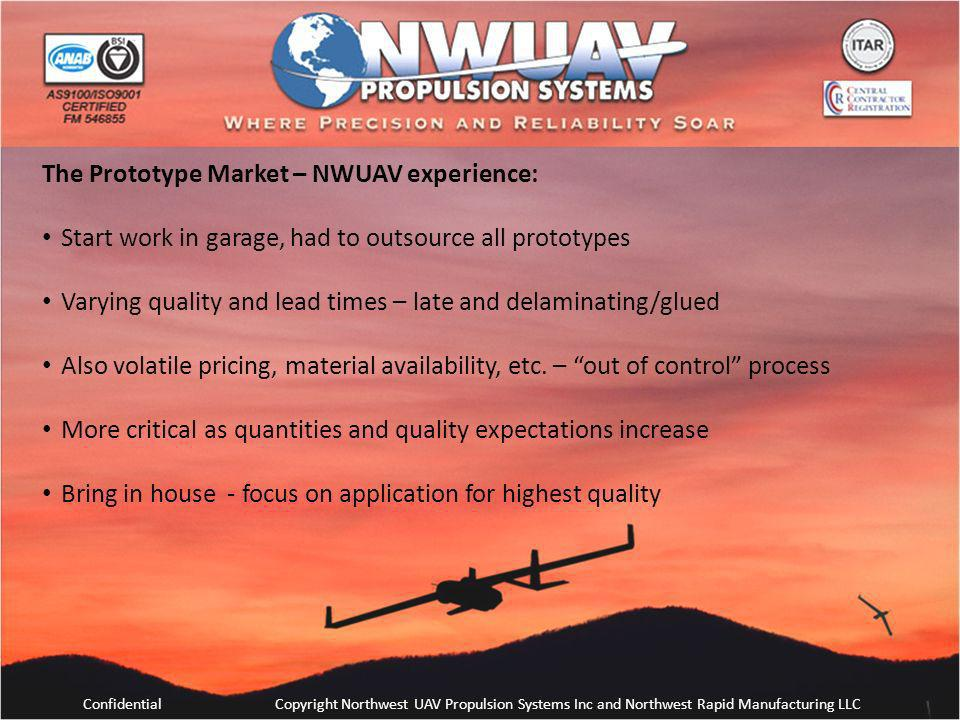 The Prototype Market – NWUAV experience: