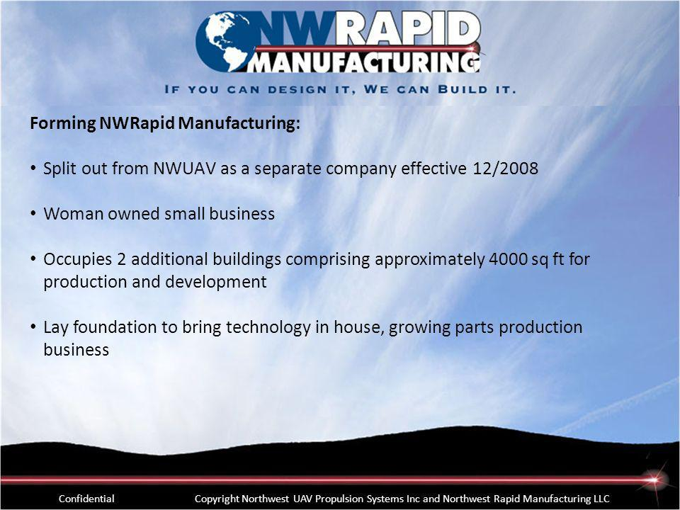 Forming NWRapid Manufacturing: