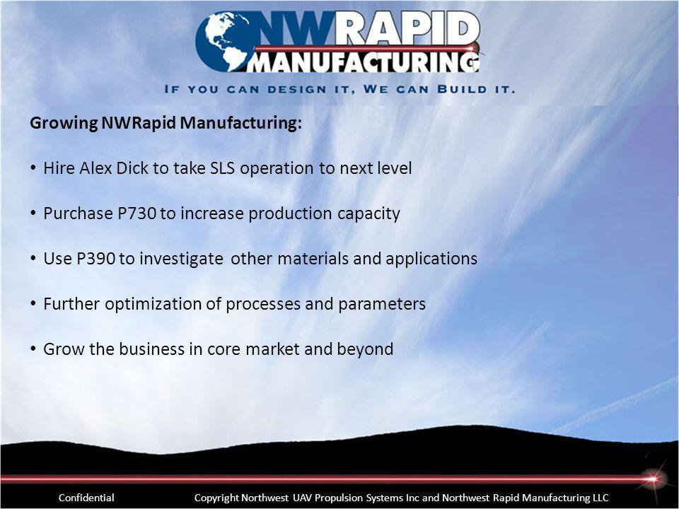 Growing NWRapid Manufacturing:
