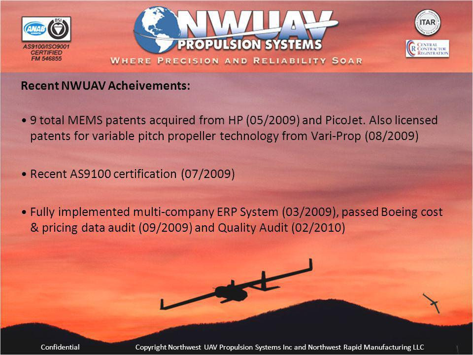 Recent NWUAV Acheivements: