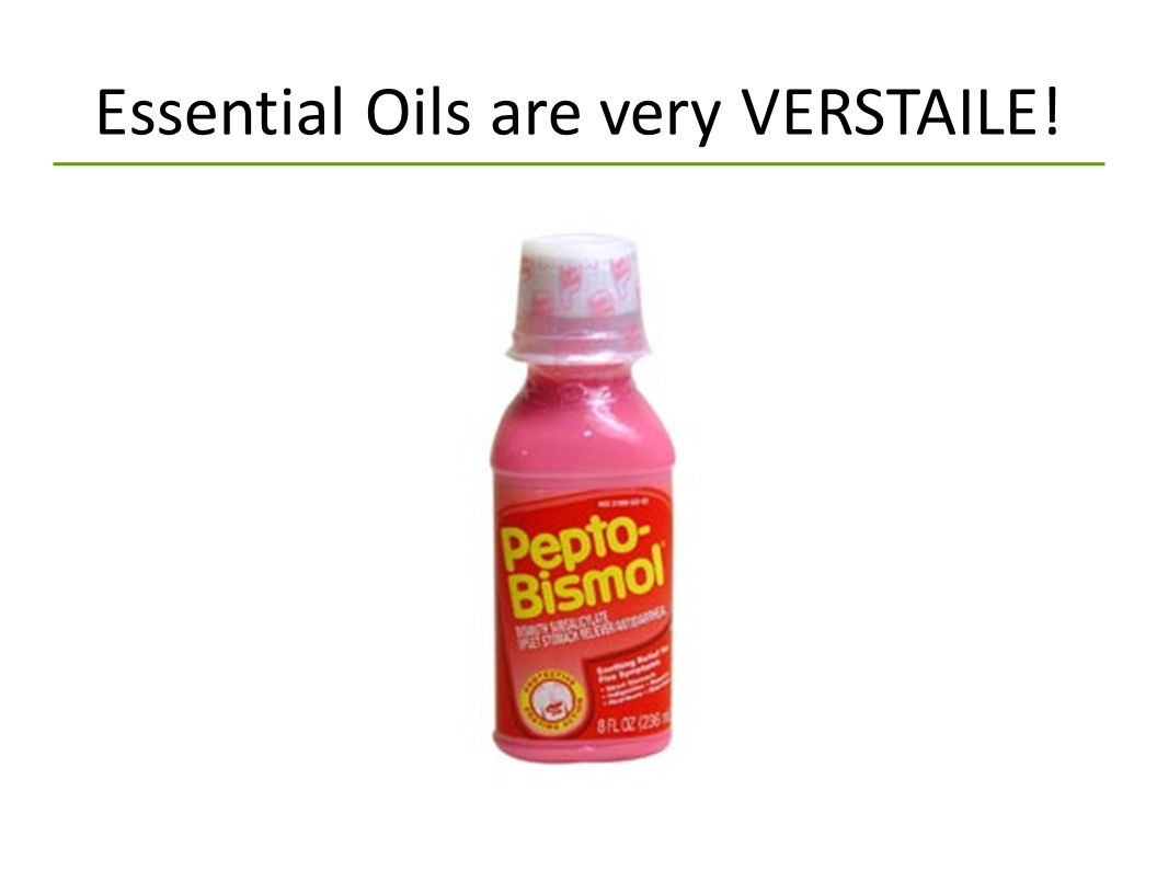 Essential Oils are very VERSTAILE!
