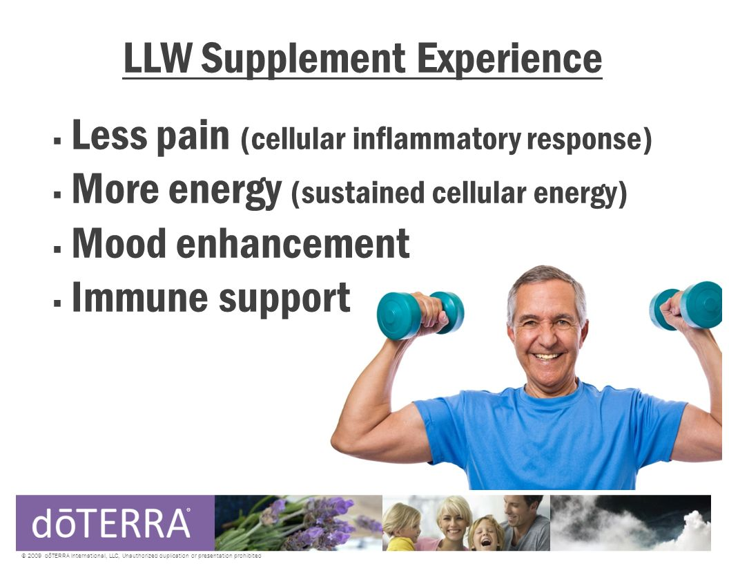 LLW Supplement Experience