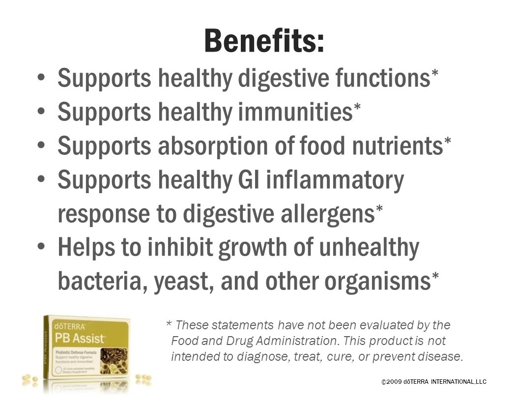 Benefits: Supports healthy digestive functions*