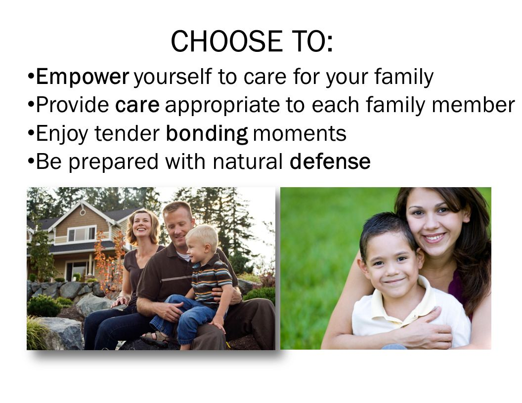 CHOOSE TO: Empower yourself to care for your family