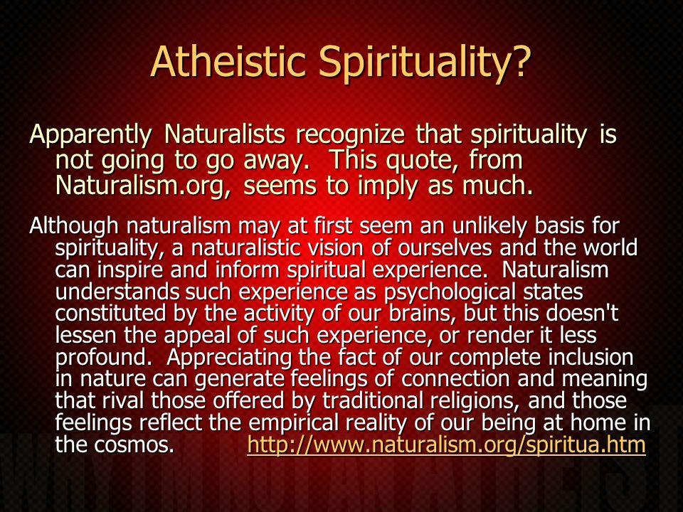 Atheistic Spirituality