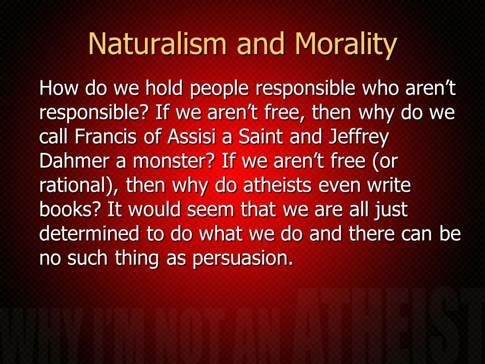 Naturalism and Morality