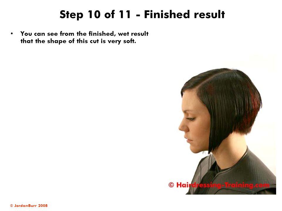 Step 10 of 11 - Finished result