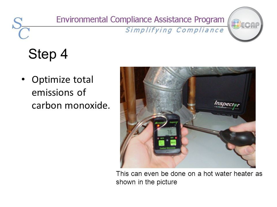Step 4 Optimize total emissions of carbon monoxide.