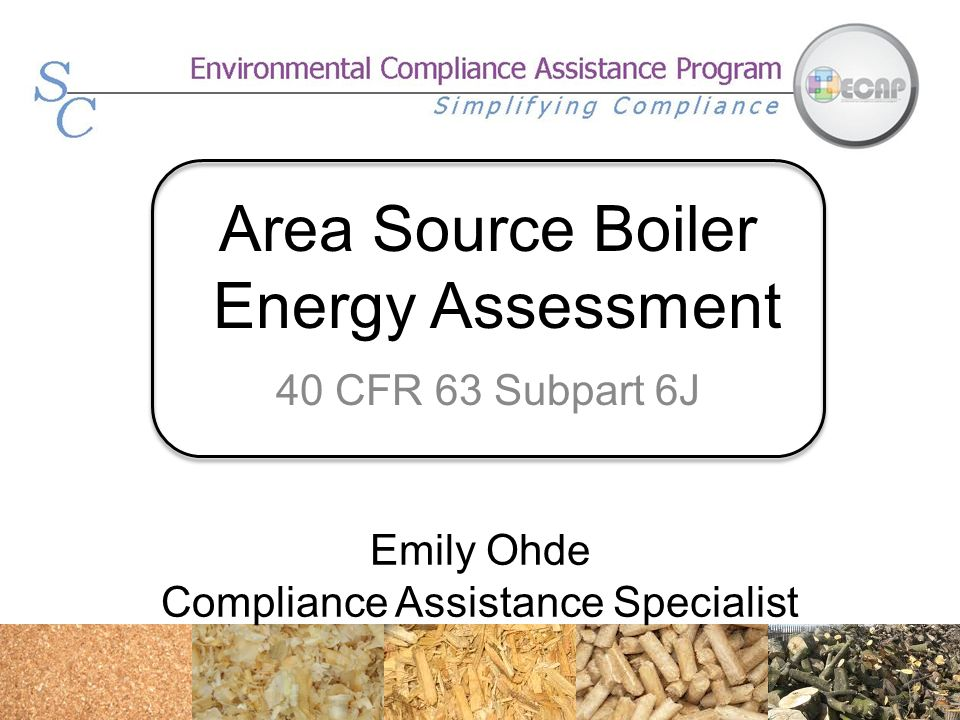 Area Source Boiler Energy Assessment