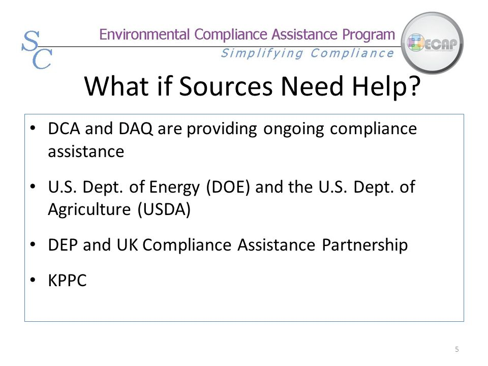 What if Sources Need Help
