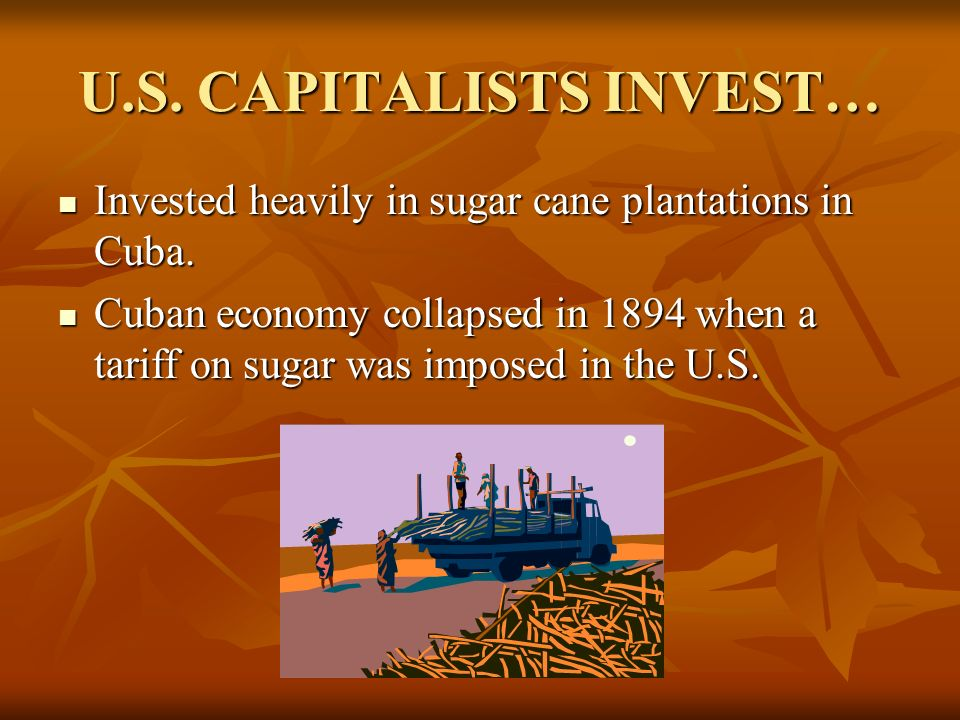 U.S. CAPITALISTS INVEST…